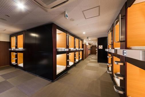 卢摩尔广场桑拿胶囊旅馆 - 京都 - 建筑