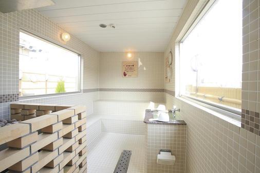 卢摩尔广场桑拿胶囊旅馆 - 京都 - 浴室