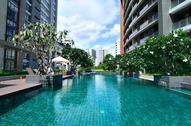 艾塔斯酒店式公寓 - 曼谷 - 游泳池