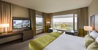 杜塞尔多夫机场凡德瓦克酒店 - 杜塞尔多夫 - 睡房