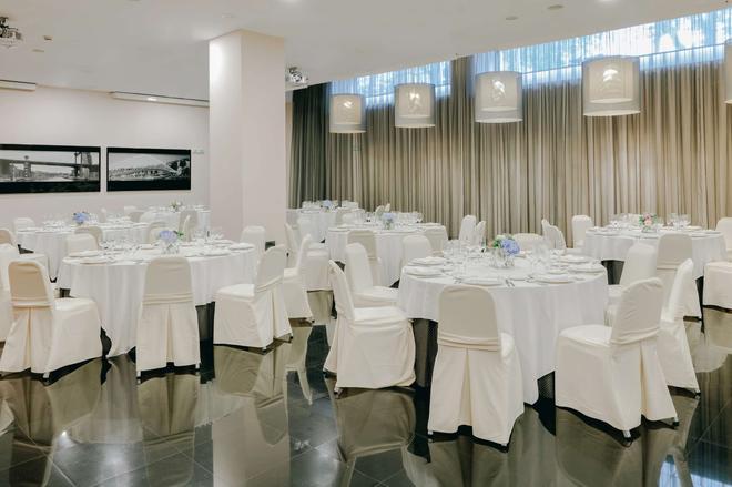 毕尔巴鄂霍斯波利亚酒店 - 毕尔巴鄂 - 宴会厅