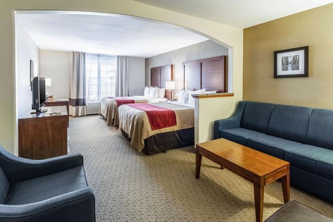 凯富套房酒店 - 吉列 - 睡房