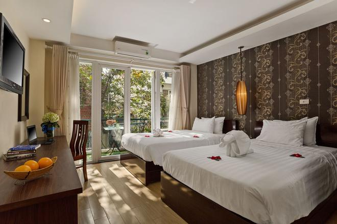 河内印象酒店 - 河内 - 睡房