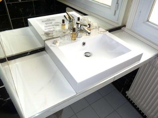 埃尔德酒店 - 里昂 - 浴室