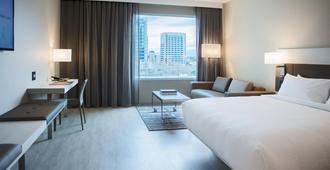 圣荷西市中心万豪酒店 - 圣何塞 - 睡房