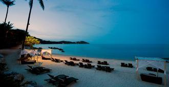 苏梅岛拉瓦娜安纳塔拉水疗度假村 - 苏梅岛 - 海滩