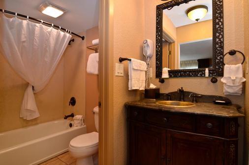 最佳西方Plus兰丁景观套房旅馆 - 布兰森 - 浴室