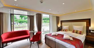 法兰克福平价邮轮商务酒店 - 法兰克福 - 睡房