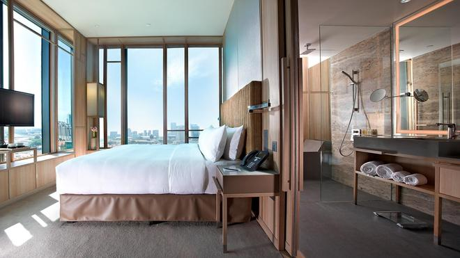新加坡皮克林宾乐雅酒店 - 新加坡 - 睡房