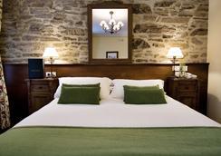 圣克利门蒂酒店 - 圣地亚哥-德孔波斯特拉 - 睡房