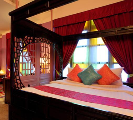 曼谷上海大厦酒店 - 曼谷 - 睡房