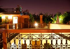 厄尔帕夏酒店 - 马拉喀什 - 阳台