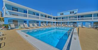 水景汽车旅馆 - 巴拿马城海滩 - 游泳池