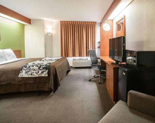 默夫里斯伯勒好眠酒店 - 默夫里斯伯勒 - 睡房