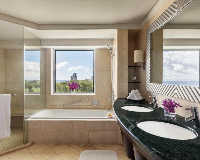 香格里拉麦丹岛度假酒店 - 宿务 - 浴室