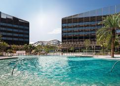 香港海洋公园万豪酒店 - 香港 - 游泳池
