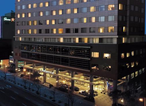 世贸中心奥克伍德豪景酒店 - 首尔 - 建筑