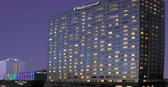 世贸中心奥克伍德豪景酒店 - 首尔 - 睡房