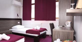 赛德汶设计酒店 - 贝尔格莱德 - 睡房