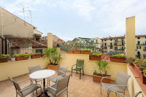 佛罗伦萨巴赛利亚酒店 - 佛罗伦萨 - 阳台