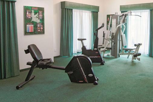 印第安纳波利斯机场莱胡斯特温德姆拉昆塔酒店 - 印第安纳波利斯 - 健身房