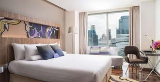皇家园景酒店 - 曼谷 - 睡房