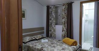 豪斯佩达利亚伊皮兰加旅馆 - 圣保罗 - 睡房