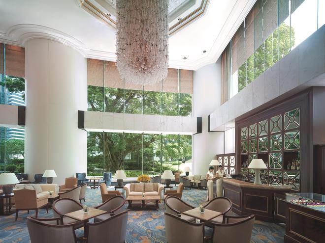 港岛香格里拉大酒店 - 香港 - 休息厅