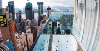 最佳西方华丽精品酒店 - 香港 - 阳台