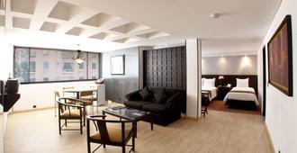 国际中心酒店 - 波哥大 - 客厅