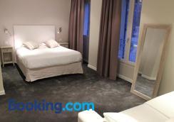 中央酒店 - 阿维尼翁 - 睡房