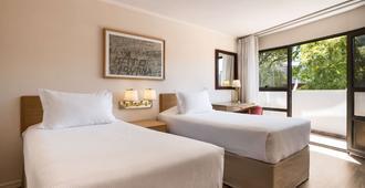 蒙得维迪亚戴斯酒店 - 蒙得维的亚 - 睡房