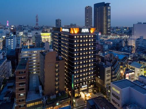 难波站东阿帕酒店 - 大阪 - 户外景观