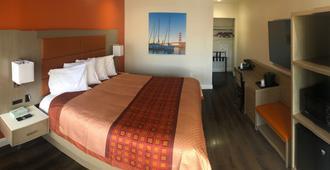 布列西迪欧套房酒店 - 旧金山 - 睡房