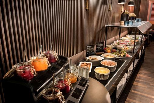 莱比锡阿迪娜公寓酒店 - 莱比锡 - 自助餐