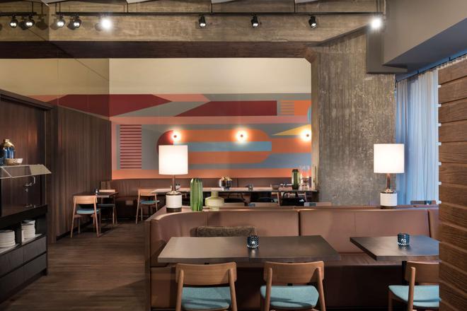 莱比锡阿迪纳公寓酒店 - 莱比锡 - 餐馆