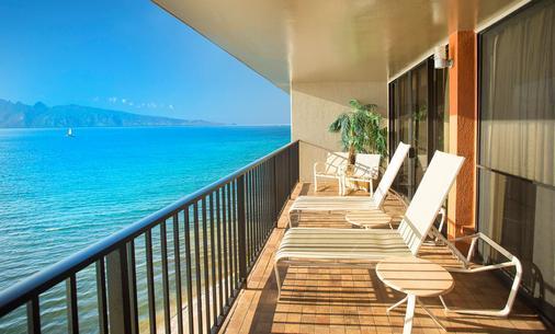 雅诗顿卡阿纳帕利海岸酒店 - 拉海纳 - 阳台
