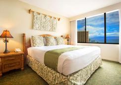 雅诗顿卡阿纳帕利海岸酒店 - 拉海纳 - 睡房