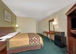 速8南印第安纳波利斯酒店 - 印第安纳波利斯 - 睡房