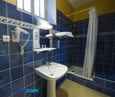 阿杜尔酒店 - 波城 - 浴室