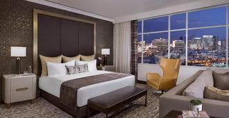 宫廷驿站赌场酒店 - 拉斯维加斯 - 睡房