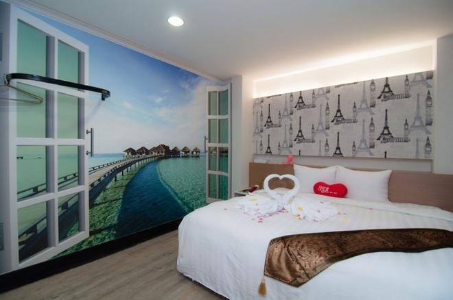 新竹101旅馆 - 新竹市 - 睡房