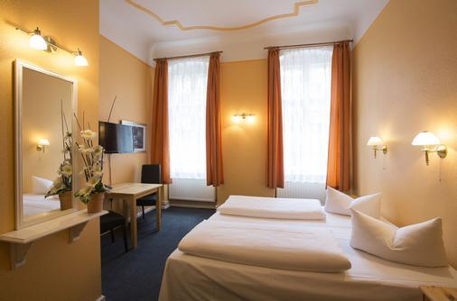 赫尔曼广场酒店 - 柏林 - 睡房