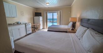 棕榈树林酒店 - 巴拿马城海滩 - 睡房