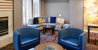 圣路易斯机场/地球城万怡酒店 - 圣路易斯 - 休息厅