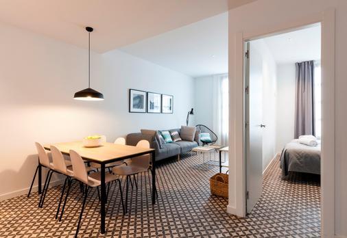 阿斯帕西奥斯珀博公寓 - 巴塞罗那 - 餐厅