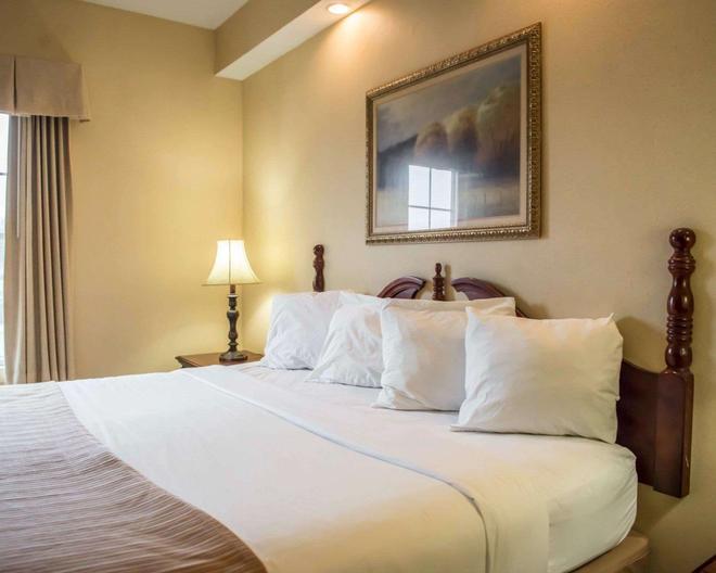 优质酒店 - 湖城 - 睡房