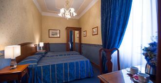 黛安娜公园酒店 - 佛罗伦萨 - 睡房