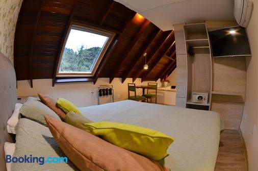 格拉马杜文艺复兴酒店 - 格拉玛多 - 睡房
