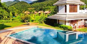 台风华度假酒店 - 拜县 - 游泳池